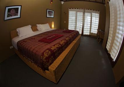 Chambre avec double lit